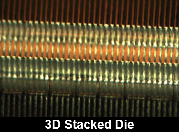 3D Interconnect on stacked die