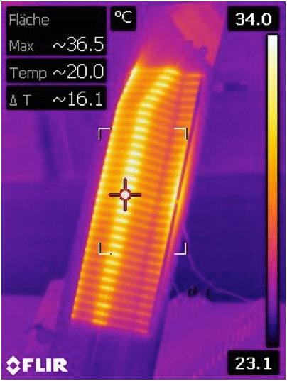 3D MID Printed Heater Circuit on Polycarbonate