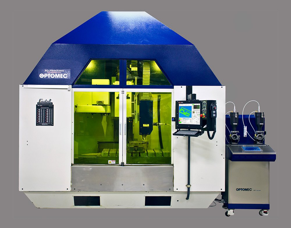 Fadal Vertical Mill upgraded with LENS AM technology