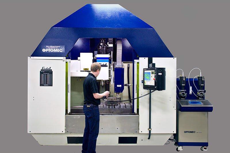 Optomec Unveils Hybrid Machine For 3d Printing