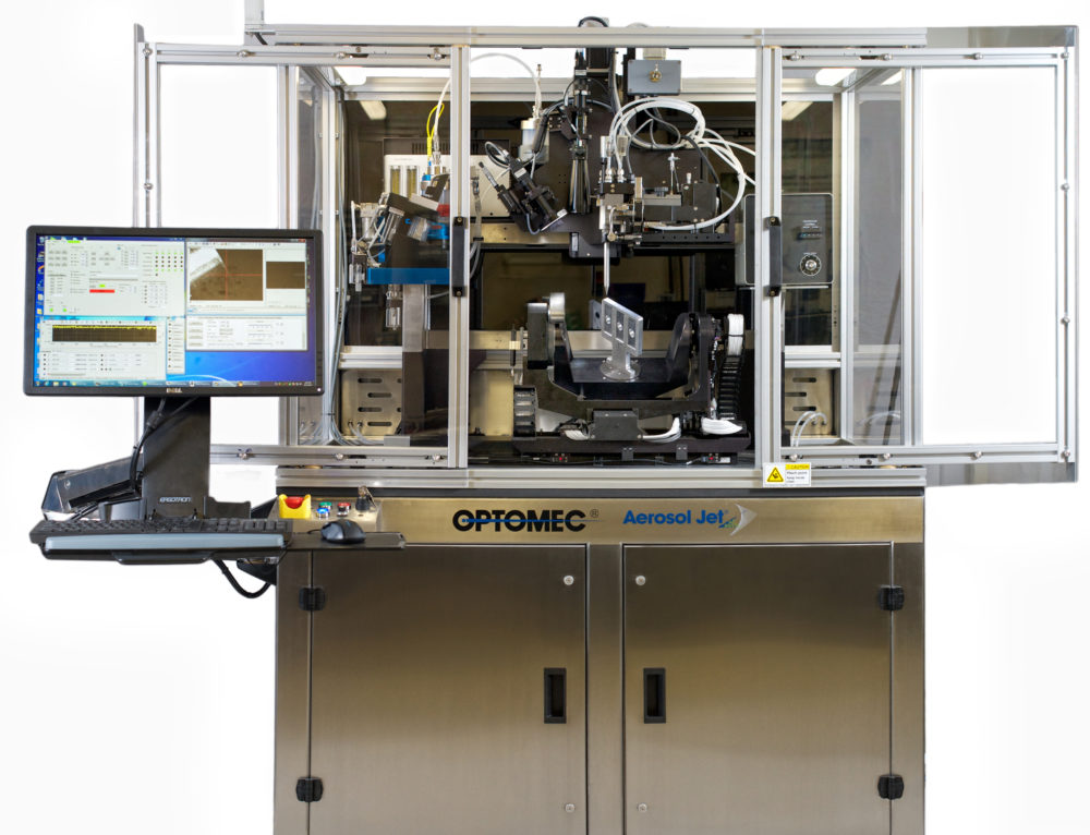 Optomec Receives Strategic Investments from Additive Manufacturing Leaders