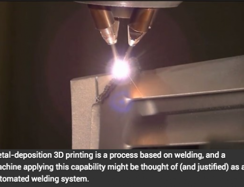 Metal AM: Is Welding the Way In?