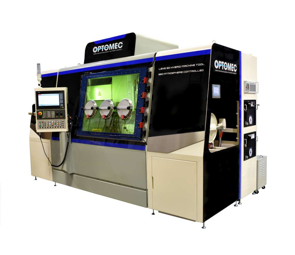 Optomec Announces New Large Format, Low Cost 3D Metal