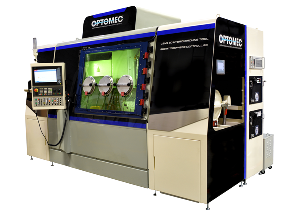 LENS Machine Tool Series hybrid additive manufacturing closed atmosphere system
